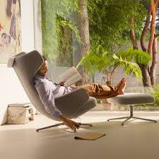 five best lounge chairs with ottoman cool sapien