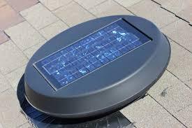 solar attic fan solar energy energy efficient installation