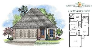 Magnolia Homes Floor Plans New Construction 2 Story 4br 2 5ba Magnolia Springs Neighborhood