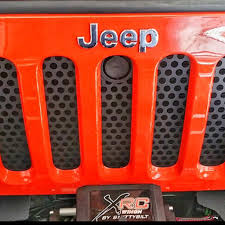 jeep wrangler front grill jwm 4x4 hood lock grille insert for jeep wrangler jk 2007 2017