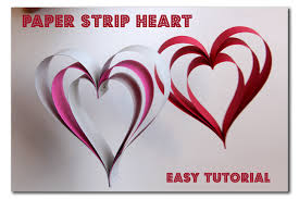 heart decorations paper hearts sugar bee crafts