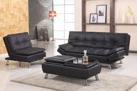 futon living room adjustable futon sofa black pu 8632 bk futons living room asia