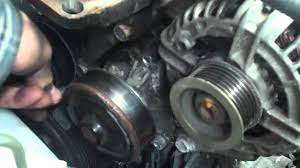 toyota corolla alternator replacement toyota corolla 1 4 vvti water removal repair