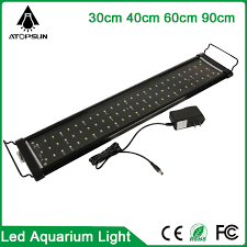 30 led aquarium light 1pcs 30cm 40cm 60cm 90cm led aquarium light fish tank lighting