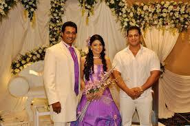 methma poruwa settee back decors bridal bouquets wedding