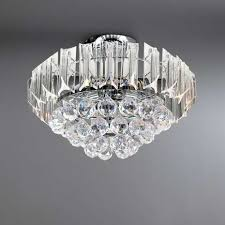 Ceiling Light Venetian Acrylic Flush Fitting Dunelm