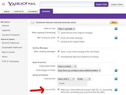 Email Yahoo Yahoo Mail Quietly Offers Https Option