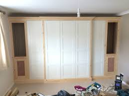 Kitchen Cabinet Cornice Pax Traditional Fitted Wardrobe Hack Ikea Hackers Ikea Hackers