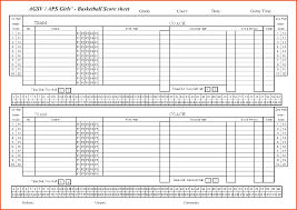 template free printables basketball score sheet basketball score