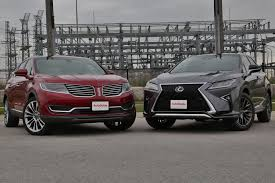 lexus vs mercedes suv 2016 lexus rx 350 vs lincoln mkx autoguide com news