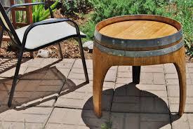 fresh wine barrel patio table decorate ideas marvelous decorating