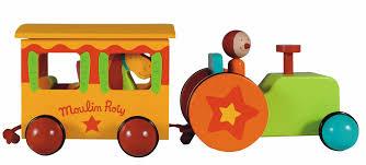 tracteur en bois tracteur en bois et roulotte de la collection dragobert de moulin
