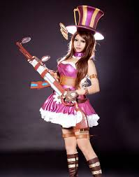 Sheriff Halloween Costumes Aliexpress Buy Lol Cosplay Costumes Caitlyn Sheriff