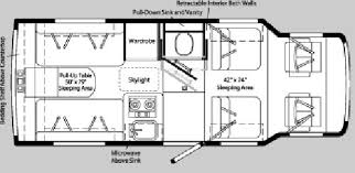 Winnebago Rialta Rv Floor Plans Used 2003 Winnebago Rialta 22qd Motor Home Class C At Lichtsinn Rv