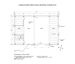 Barn Plans Historic Hay Barn With Red Oak Timber Frame
