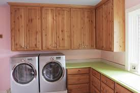 Washer Dryer Enclosure Cabinet Material In Laundry Rooms Cabinets By Graber