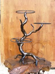 metal cake stand wedding cake stand candlestick by steelspike on deviantart