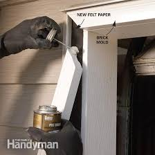 Vinyl Door Trim Exterior Installing Garage Door Trim Home Desain 2018
