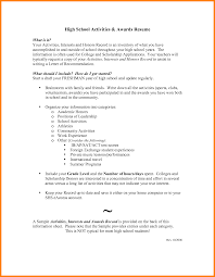 college resume exles for high school seniors sle resume high school senior applying college camelotarticles