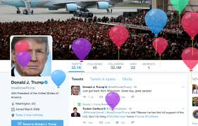 birthday balloons for him heckles donald the birthday balloons on his