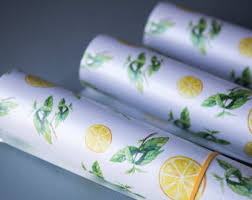 mint wrapping paper mint gift wrapping etsy