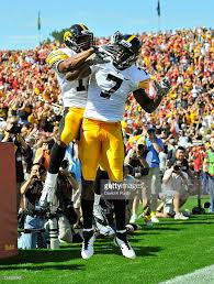 Iowa Hawkeyes Flag Iowa V Iowa State Photos And Images Getty Images
