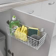 kitchen cupboard storage ideas dunelm metaltex pandino multi purpose basket dunelm