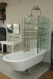 canopy bath glass screens the water monopoly bathroom interesting partial tile in bathroom