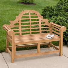 Teak Patio Furniture Marlboro Lutyens Teak Outdoor Bench 4 Ft Or 5 Ft Outdoor