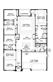 Floor Plan Of A Bedroom 691 Best Ranch House Plans Images On Pinterest House Floor Plans