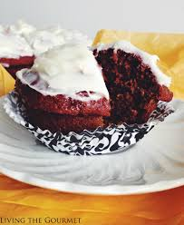 red velvet beet cupcakes living the gourmet