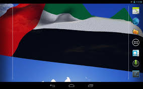 3d uae flag live wallpaper android apps on google play