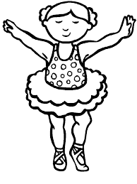 ballet coloring pages u2013 birthday printable