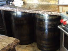 Whiskey Barrel Kitchen Table Custom Pirate Galley Rustic And Beautiful Richins Carpentry