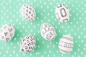paper easter eggs make this easy easter egg diy with sharpies paper and stitch