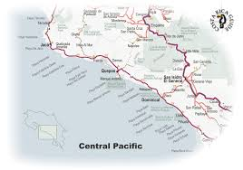pacific region map map of the central pacific region of costa rica