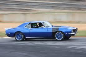 pro 68 camaro a pro touring 1968 chevrolet camaro with a drag racing attitude
