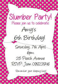 15 free printable sleepover invitations she ll