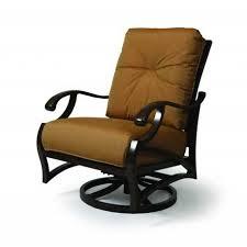 Patio Club Chairs Mallin Volare Swivel Club Chair Flagship Mist Outdoor Furniture