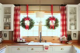 window wreaths cottage kitchen christmas wreaths in window christmas decor