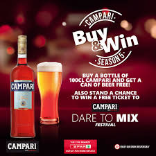 campari campari is giving away great prizes in its buy and win promo