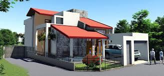 Pleasant Design 2 Story Modern House Plans For Sri Lanka 6