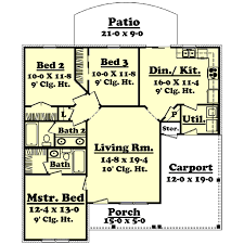 house plans 1200 square feet