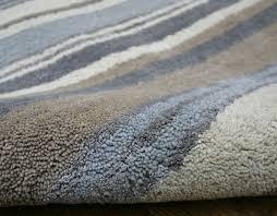 Grey Striped Rug Home Rugs Stripes Luxury Wool Runner Blue Grey Cream Rug 24 Office