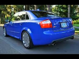 2004 audi s4 blue 2004 audi s4 quattro 6speed lowered 18 for sale in milwaukie