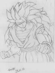son goku ssj3 drawing blizard 2017 jan 2 2011