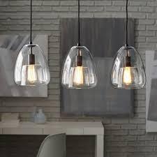 3 Pendant Light Duo Walled Chandelier 3 Light West Elm