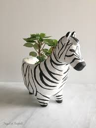 animal planter diy clay animal planters frugal in fairfield