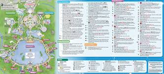 Universal Orlando Park Map by Updated Epcot Park Map Now Includes All New Attractions