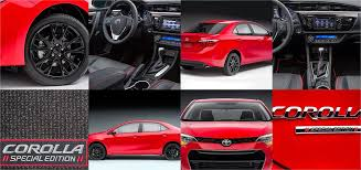 toyota corolla special edition 2016 2016 toyota corolla is the thing in compact cars